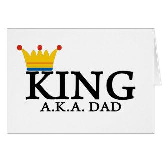 KING A.K.A. DAD CARD