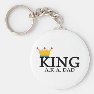 KING A.K.A. DAD KEY CHAIN