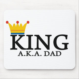 KING A.K.A. DAD MOUSE PAD