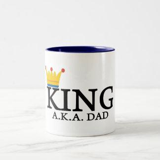 KING A.K.A. DAD MUG