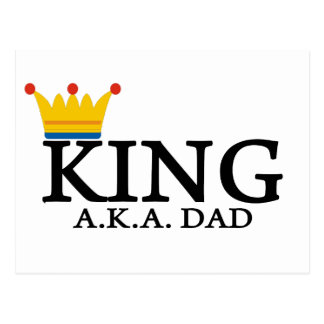 KING A.K.A. DAD POST CARDS