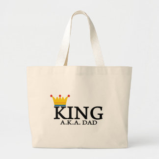 KING A.K.A. DAD TOTE BAG
