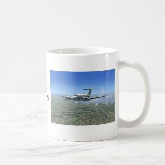 King-Air Turboprop Aircraft Coffee Mug