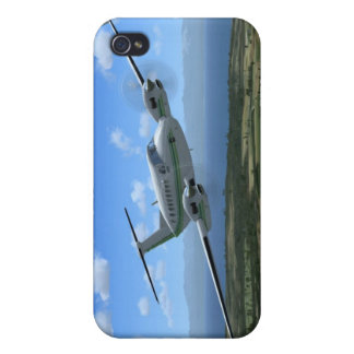 King-Air Turboprop Aircraft iPhone 4/4S Cases