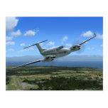 King-Air Turboprop Aircraft Post Cards