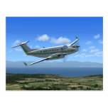 King-Air Turboprop Aircraft Postcards