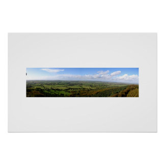King Alfred's view Print