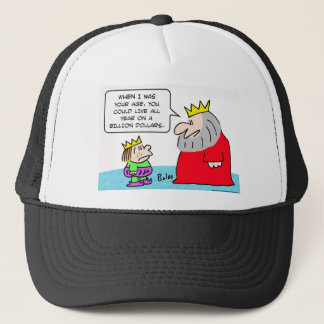 king all year billion dollars trucker hat
