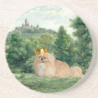 King and Castle Drink Coasters
