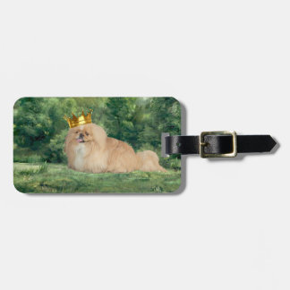 King and Castle Tag For Luggage