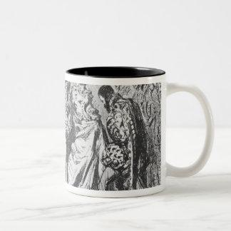 King and court mug