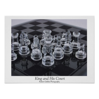 King and His Court Poster