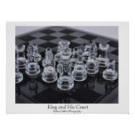 King and His Court Print