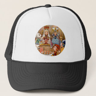 King and Queen at The Trial of the Knave of Hearts Trucker Hat