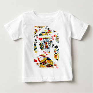 King and queen card baby T-Shirt