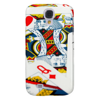 King and queen card samsung galaxy s4 cover