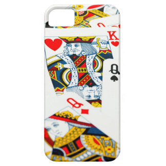 King and queen card iPhone 5 covers