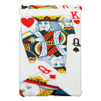 King and queen card iPad mini case
