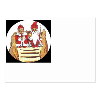 King and Queen Gnome Large Business Card