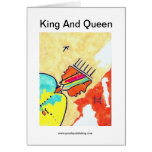King And Queen Greeting Cards
