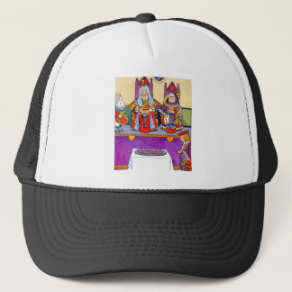 King And Queen of Hearts at Knave of Hearts Trial Trucker Hat