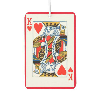 King and Queen of Hearts Car Air Freshener