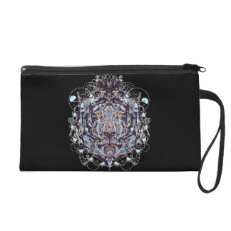 King Apparel Lion Wristlet Purse