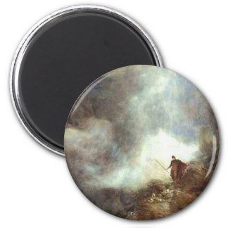 king arthur 2 inch round magnet
