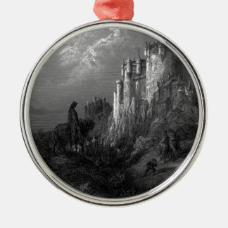 King Arthur and Camelot by Gustave Doré' 1868 Christmas Ornament