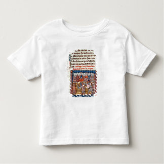 King Arthur and Guinevere watching a Toddler T-shirt