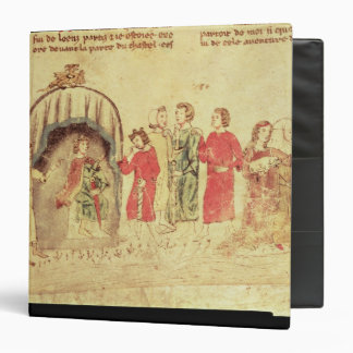 King Arthur and his Court, from the Roman Binder