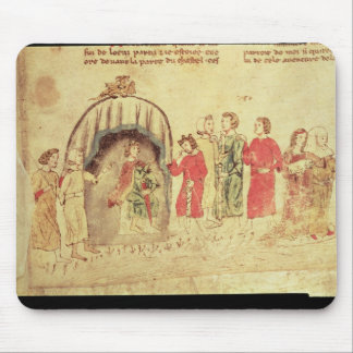 King Arthur and his Court, from the Roman Mouse Pads