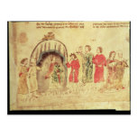 King Arthur and his Court, from the Roman Postcard