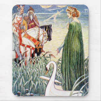 King Arthur and the Lady of the Lake Mouse Pads