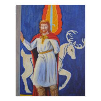 King Arthur - Arturus Rex Postcard