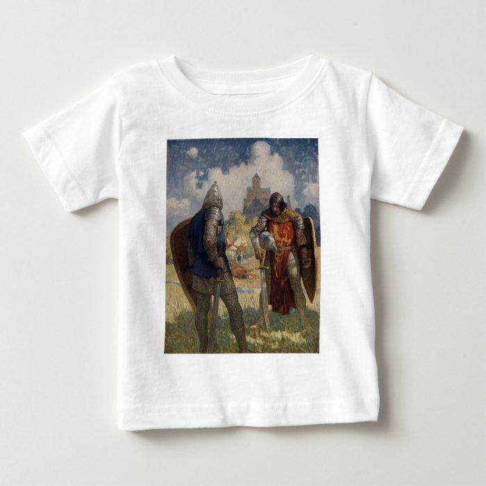 King Arthur & Castle Baby T-Shirt