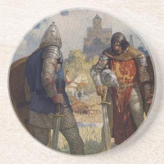 King Arthur & Castle Drink Coaster