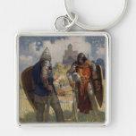 King Arthur & Castle Key Chains