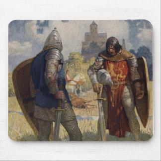 King Arthur & Castle Mouse Pads
