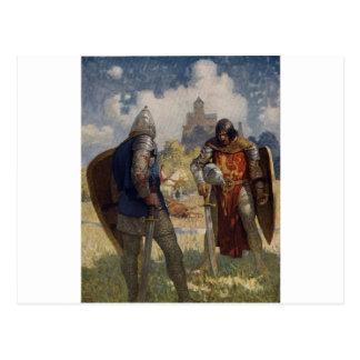 King Arthur Castle Postcards