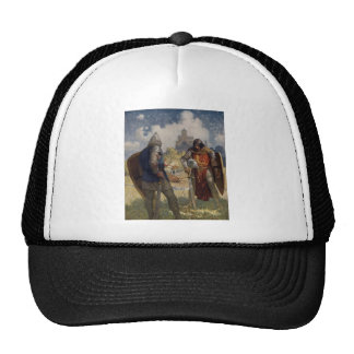 King Arthur & Castle Trucker Hat