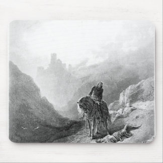 King Arthur discovers the Skeletons Mouse Pad
