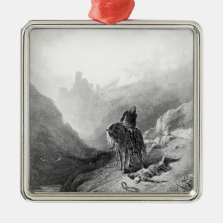 King Arthur discovers the Skeletons Christmas Tree Ornaments