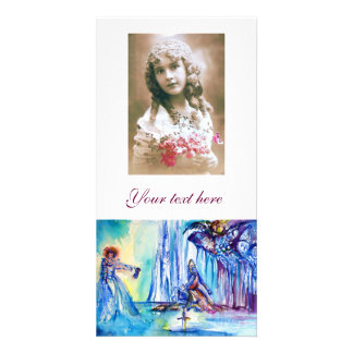 KING ARTHUR ,LADY OF THE LAKE AND EXCALIBUR PHOTO CARD