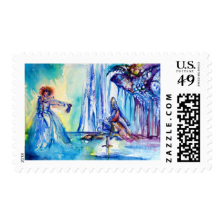KING ARTHUR ,LADY OF THE LAKE AND EXCALIBUR POSTAGE
