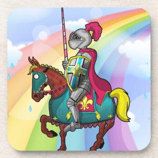 King arthur medievil knight and horse coaster