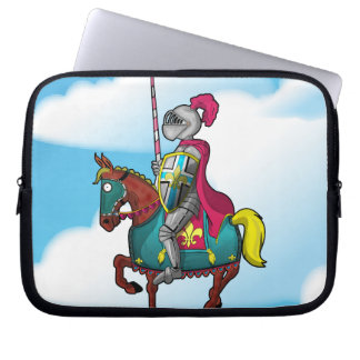 King arthur medievil knight and horse computer sleeves