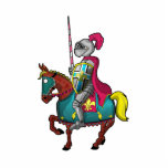 King Arthur medievil knight and horse Photo Sculptures