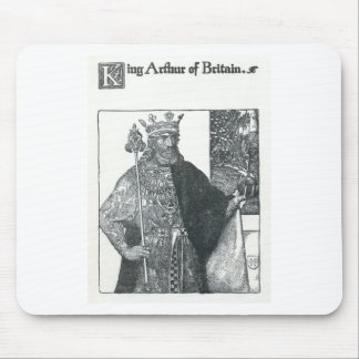 King Arthur of Britain Mouse Pad