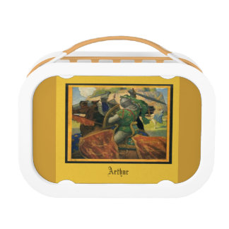 King Arthur - Old bookcover Lunch Box
